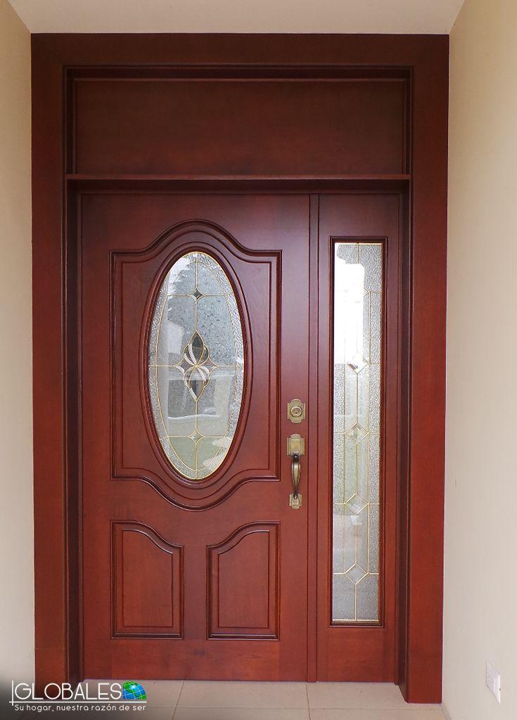 Resultado de imagen para puertas de madera entrada for Puertas de entrada principal