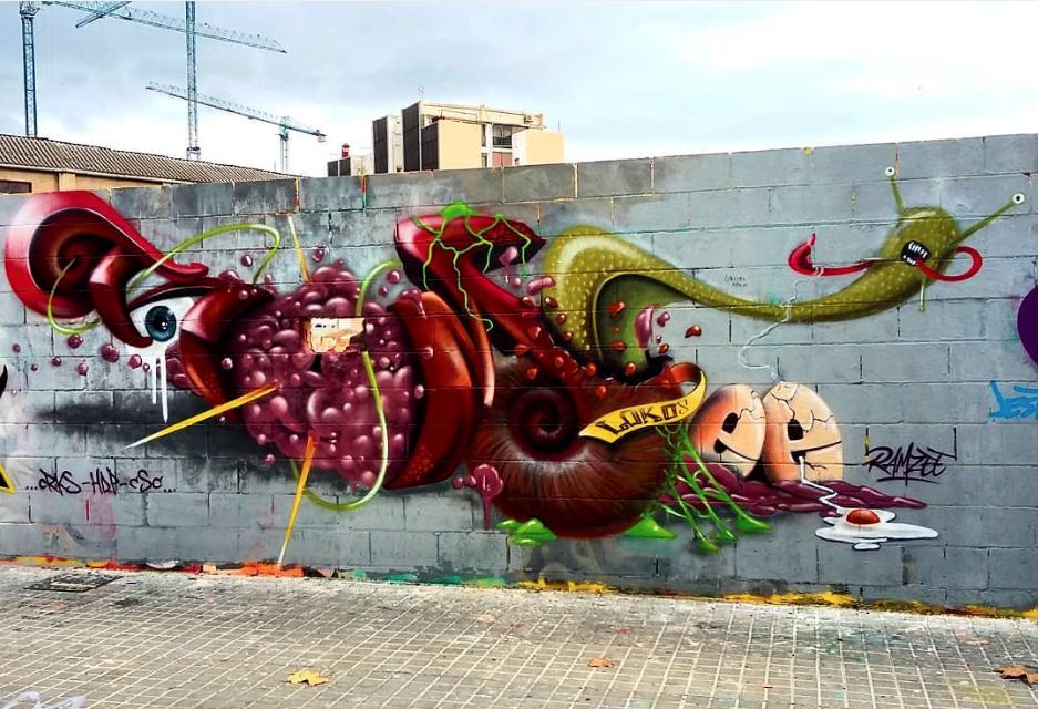 Street Photographer Ramzy: Loko Ramzy In Barcelona, Spain, 2017
