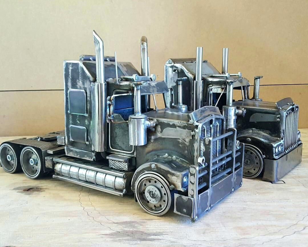 Awesome Welding Projects Metal Semi Truck