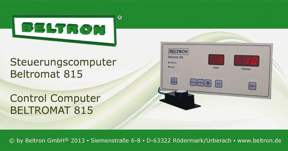 Steuerungscomputer Beltromat 815