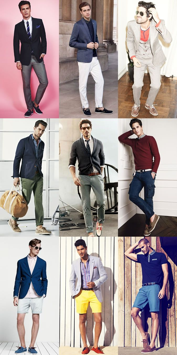 Ways To Wear: Boat Shoes   Mens fashion