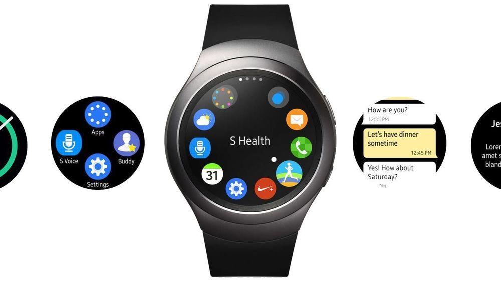 Samsung Gear S2 Smartwatch International Version R720 Stainless Steel 42mm Upgra Smart Watch Samsung Smart Watch Latest Smartwatch