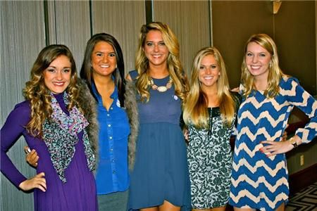 Theta Phi at our Founder's Day celebration!