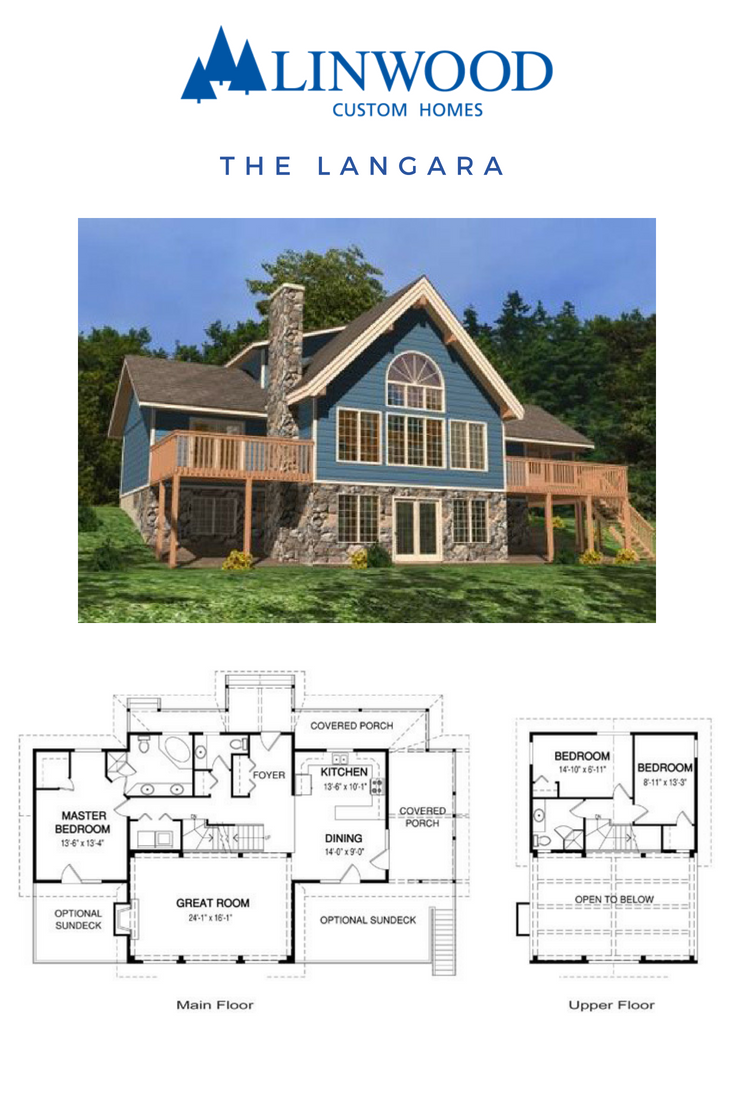 The Langara Timber Frame Home Package From Linwood Homes Is A 3 Bedroom Design With Soaring Ceilings E Cabin Floor Plans House Plans Beaver Homes And Cottages