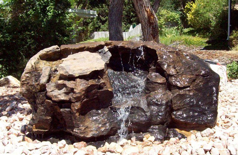 Rock Boulder Fountain Natural Rock Designs Water Fountain Design Rock Fountain Fountain