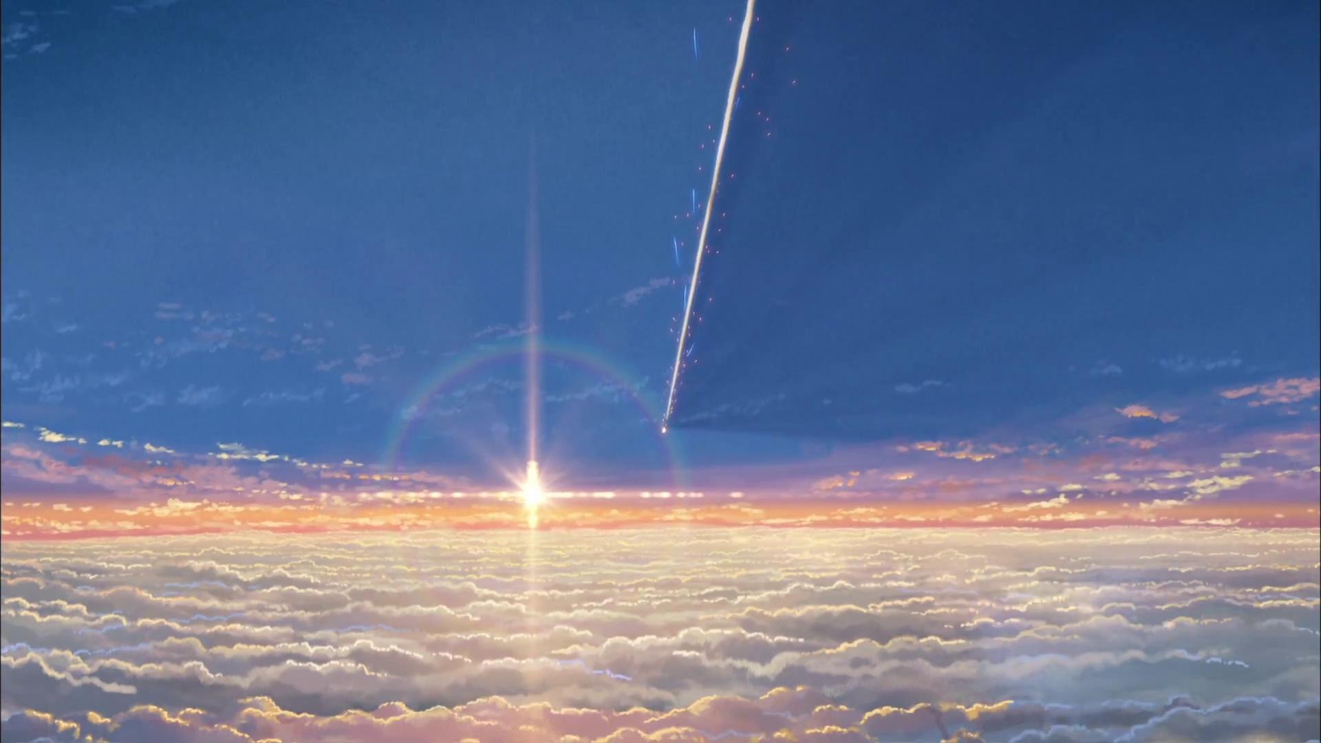 Hd wallpaper kimi no na wa - Makoto Shinkai Kimi No Na Wa Your Name Screencaps
