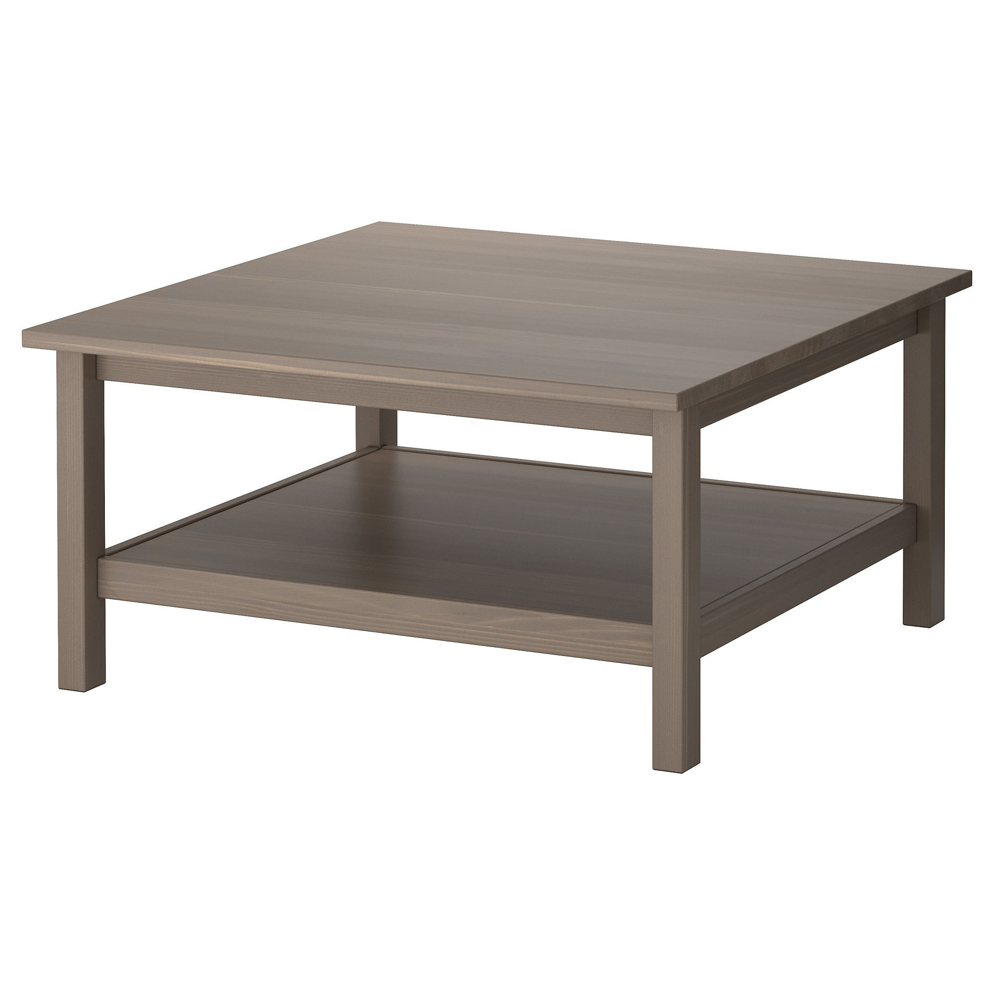 Hemnes Table Basse Gris Brun Ikea A Man S Place Table