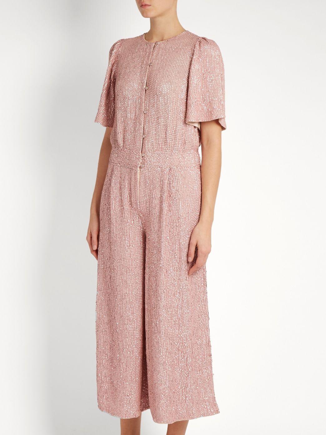 Fairyqueen Olina embellished jumpsuit | Temperley London | MATCHESFASHION.COM