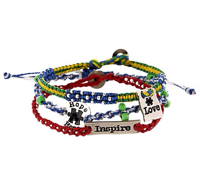 bracelet orlando society color autistic multi greater product autism of
