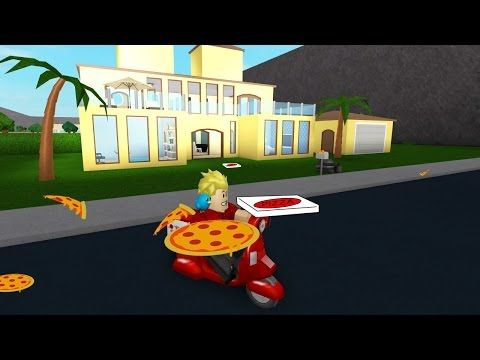 Pizza Delivery In Roblox House Tour X2f Welcome To Bloxburg