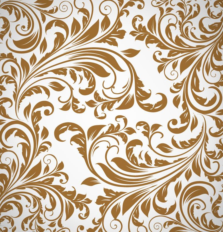New free abstract floral pattern background vector also eduaardo mendes dumendes on pinterest rh