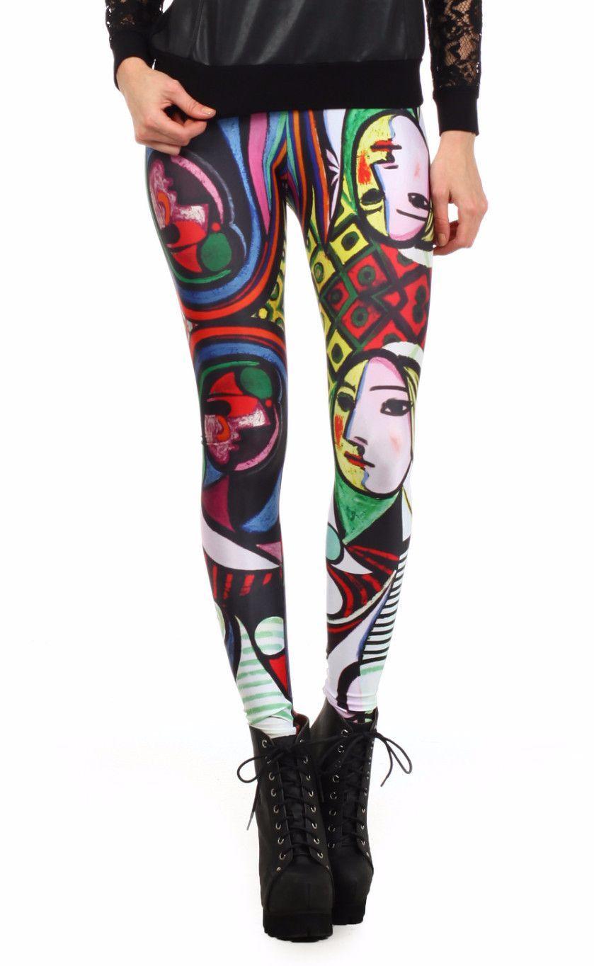 30b1969843dd0 Picasso: Girl Before a Mirror Leggings | POPRAGEOUS https://www.poprageous