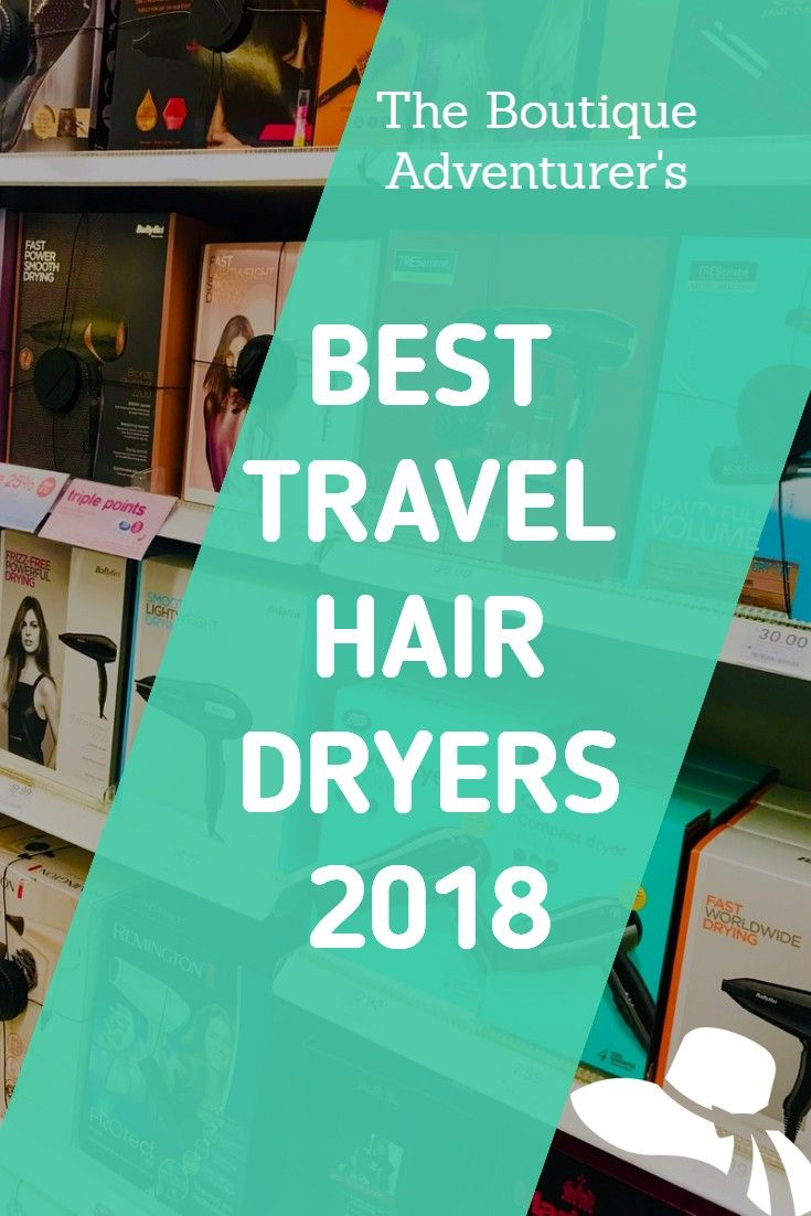 Best Travel Hair Dryer With Diffuser To Get Rid Of Frizz