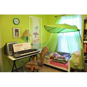 See That Leaf Canopy I Want That In My Classroom Library Childrens Bed Canopy Kid Beds Kids Bed Canopy