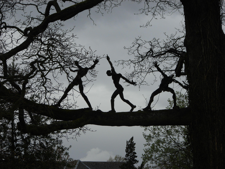 Burghley House Sculpture Park.