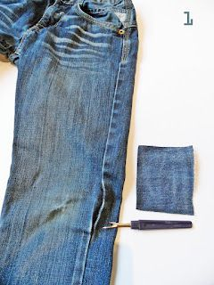 Fix up your ripped jeans