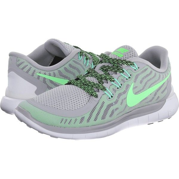 Womens Shoes Nike Free 5.0 Wolf Grey/Green Strike/Ghost Green/Voltage Green