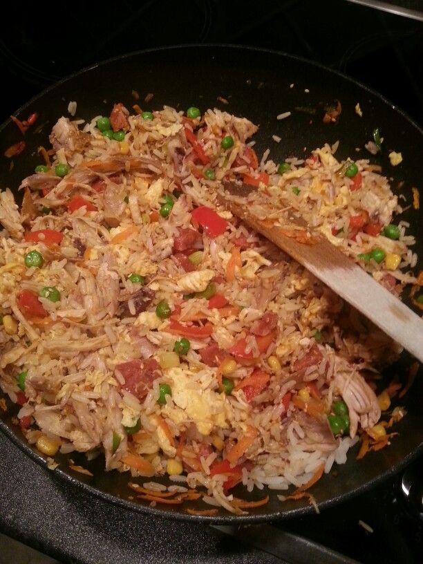 Leftovers egg fried rice this my main dish pinterest fried leftovers egg fried rice ccuart Gallery