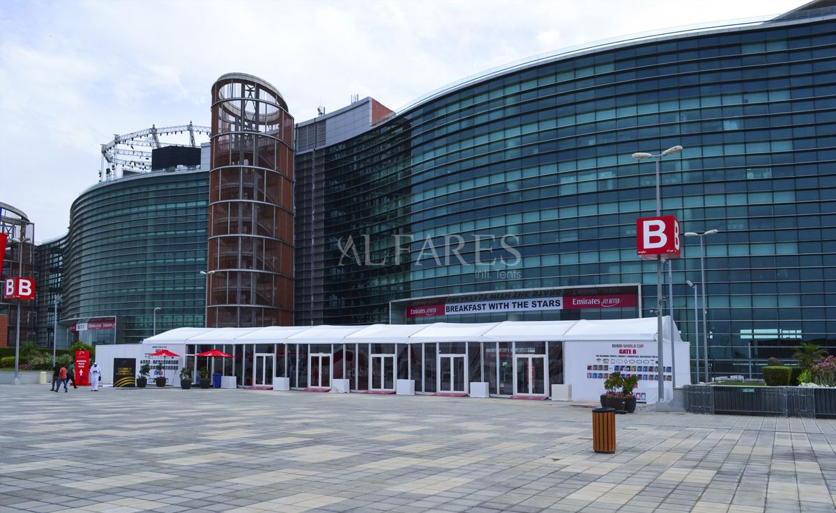 Arch Tent Structures by Al Fares Intl  Tents | Event Tents