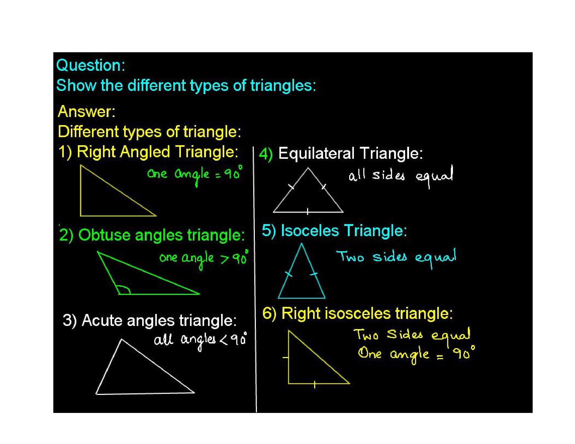Type of triangle Geometry help, Distance formula
