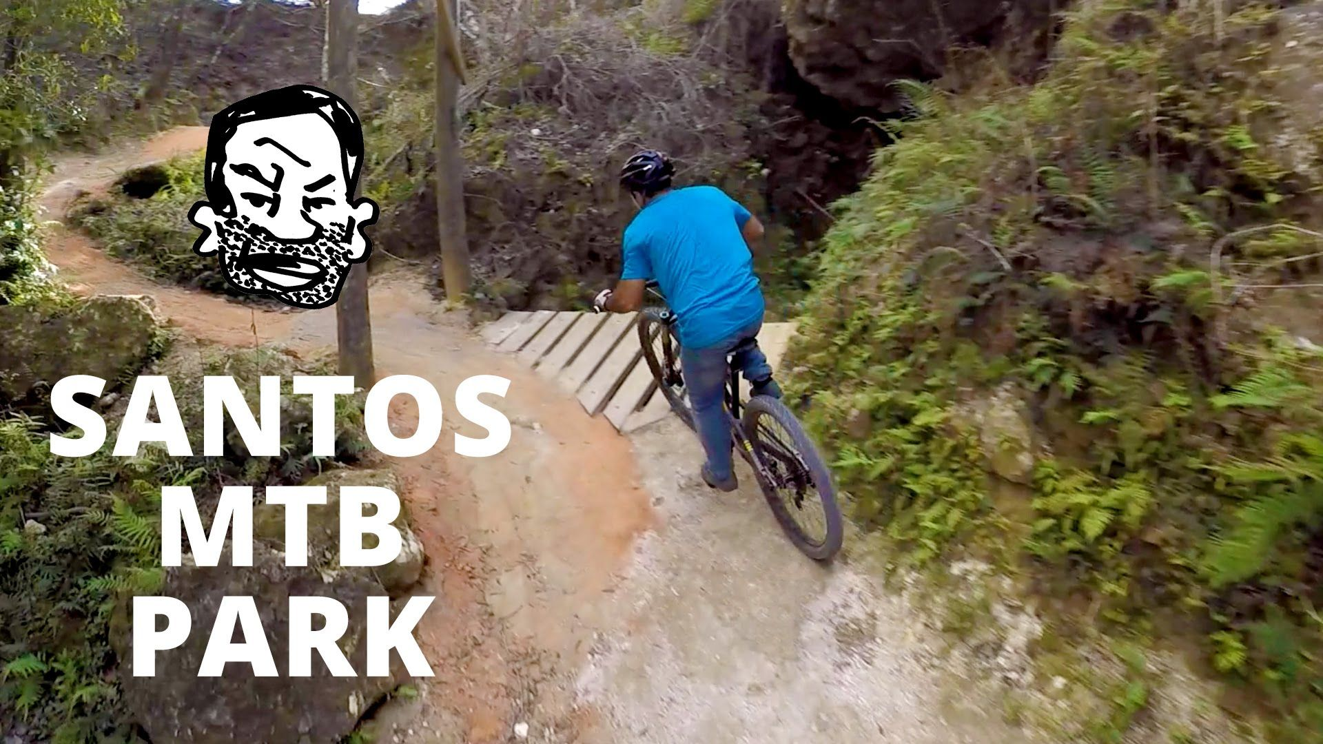 Riding Santos Mtb Park With Phil Kmetz Video Downhill Mountain Biking Mountain Bike Reviews Mtb