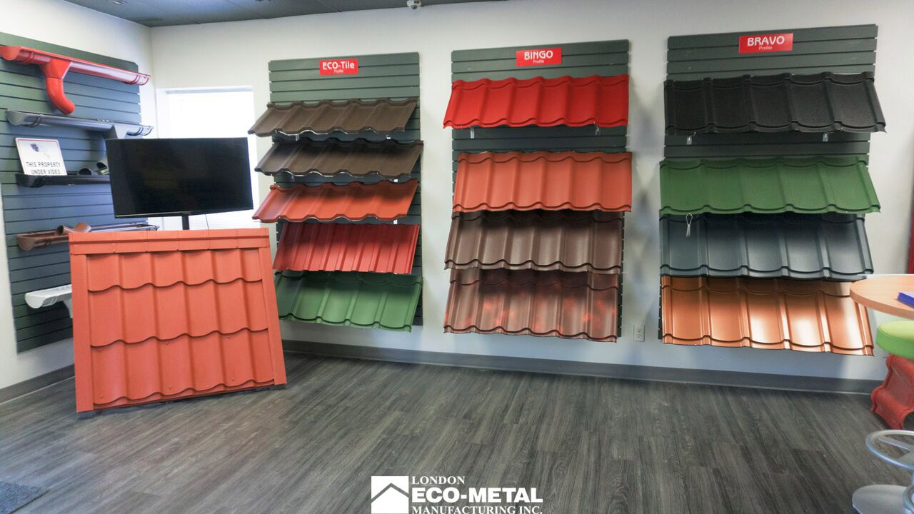 Our Ottawa Showroom Metal Roofs Roofing Brampton Mississauga