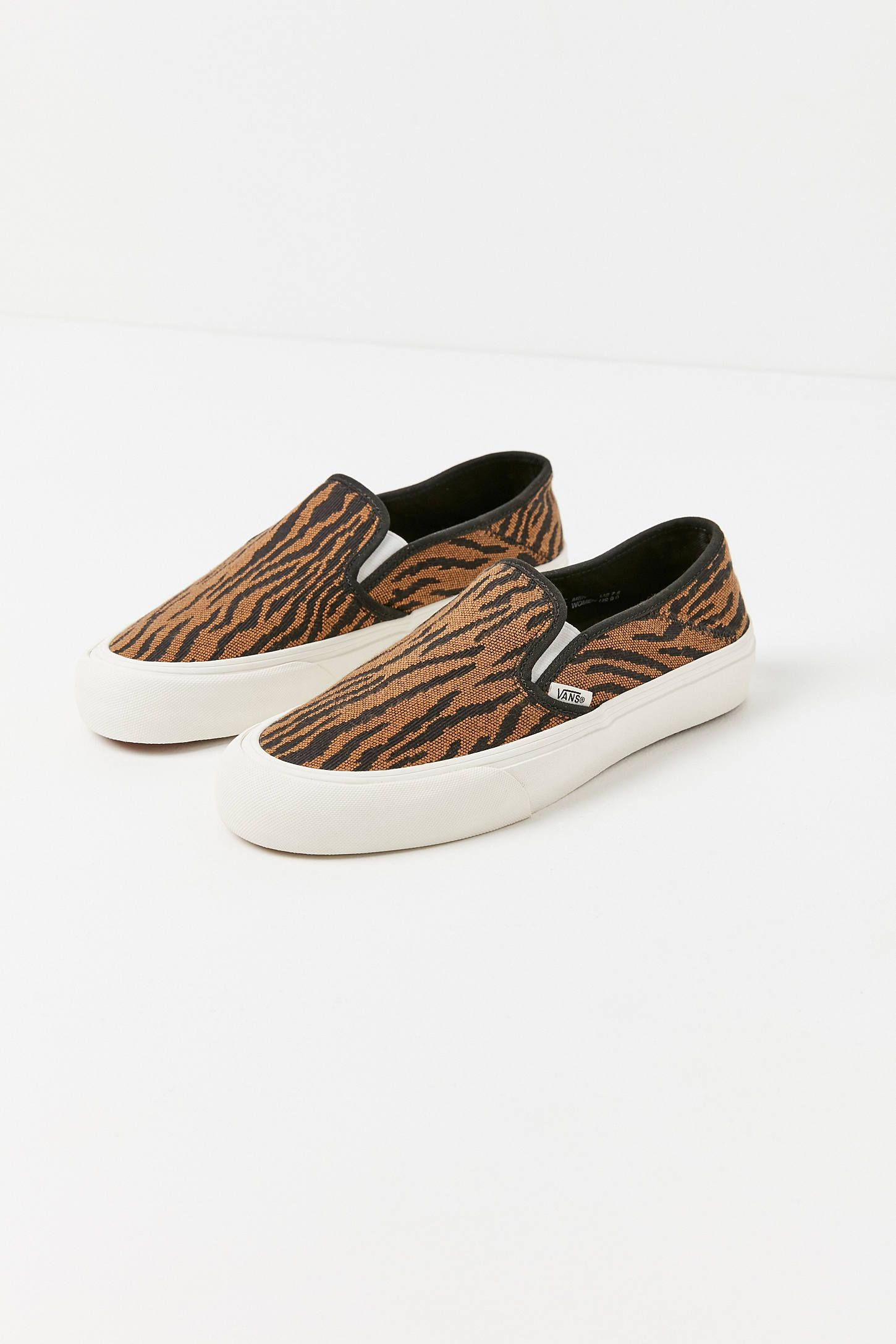Vans Woven Tiger Slip-On Sneaker | Slip