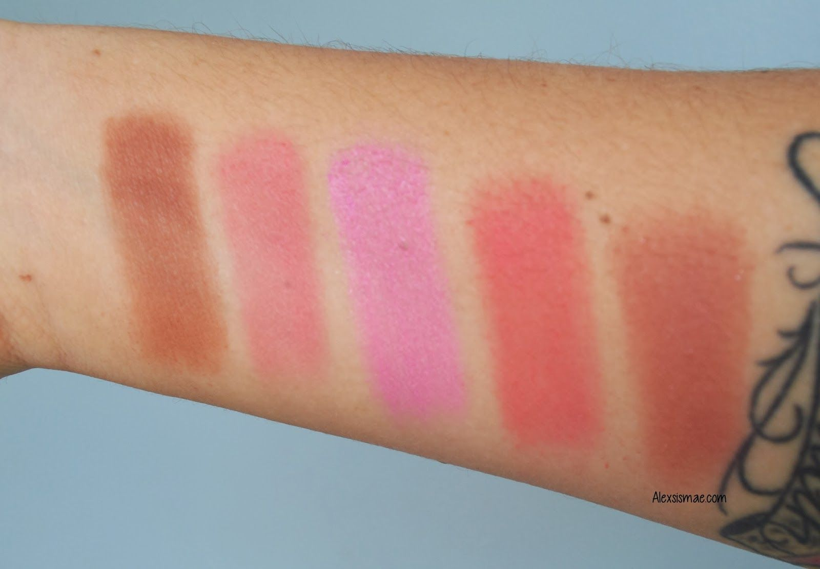 BH Cosmetics 10 Blush Palette Review + Swatches