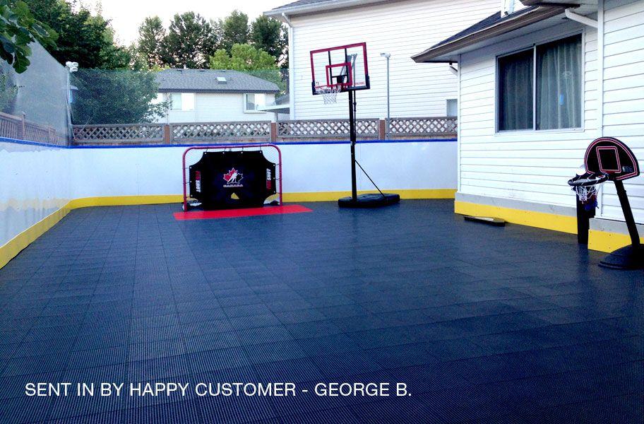 Tiles Outdoor Basketball Court