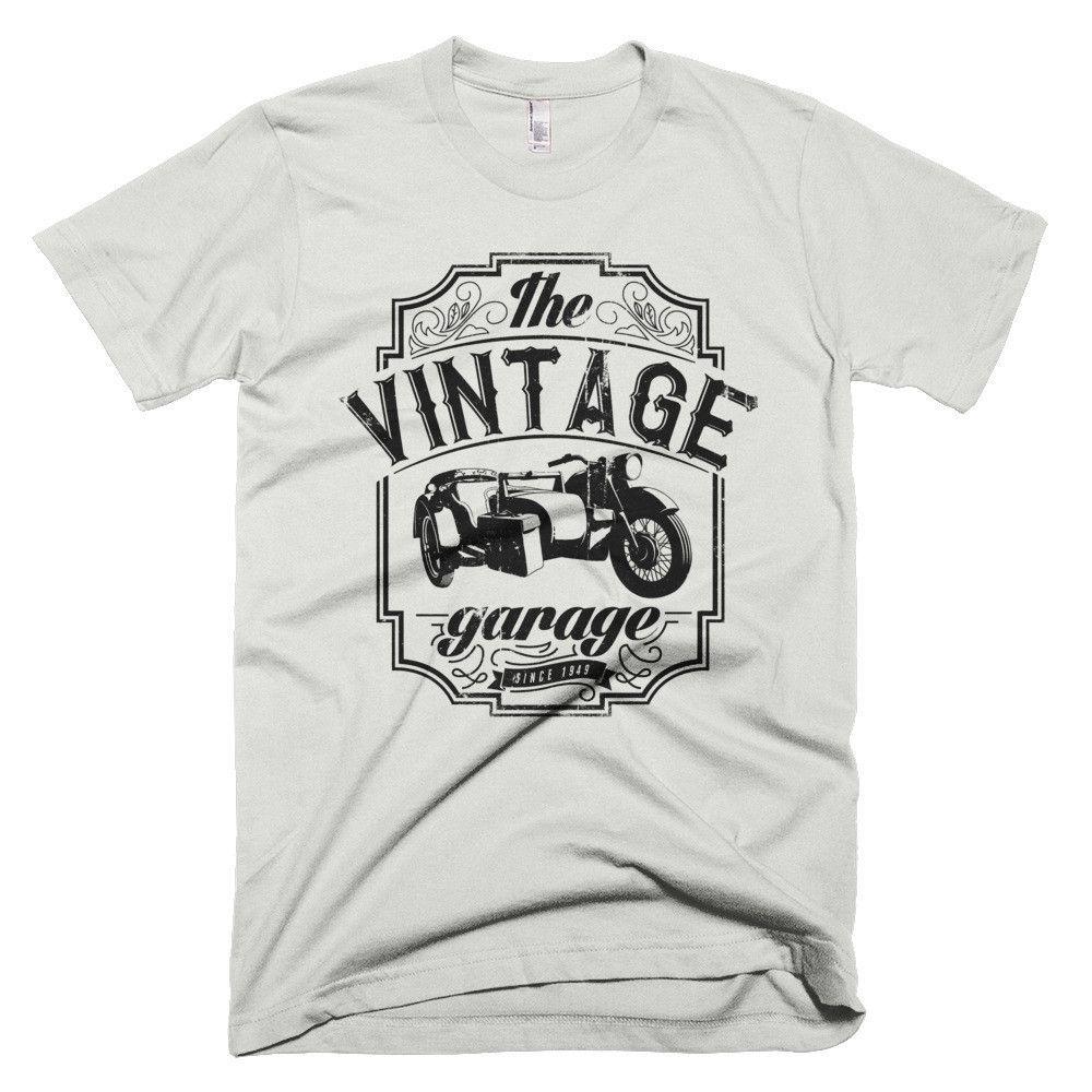Vintage Motorcycle Short sleeve men's t-shirt
