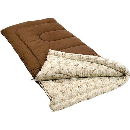 Coleman Autumn Trails And Tall 20 Degree Sleeping Bag Beige