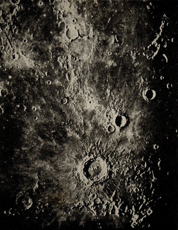 1900 Surface Of The Moon 73 Copernicus Eratosthenes Original Vintage Space Astronomy Print In 2020 Vintage Space Astronomy Life On The Moon