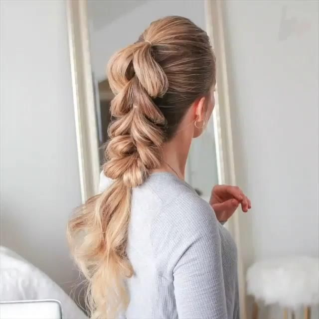 SUPER EASY PULL THROUGH BRAID