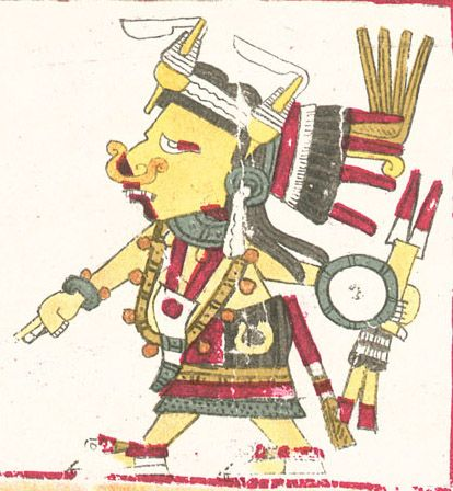 A Depiction Of Tlazoteotl Styled As In The Codex Borgia