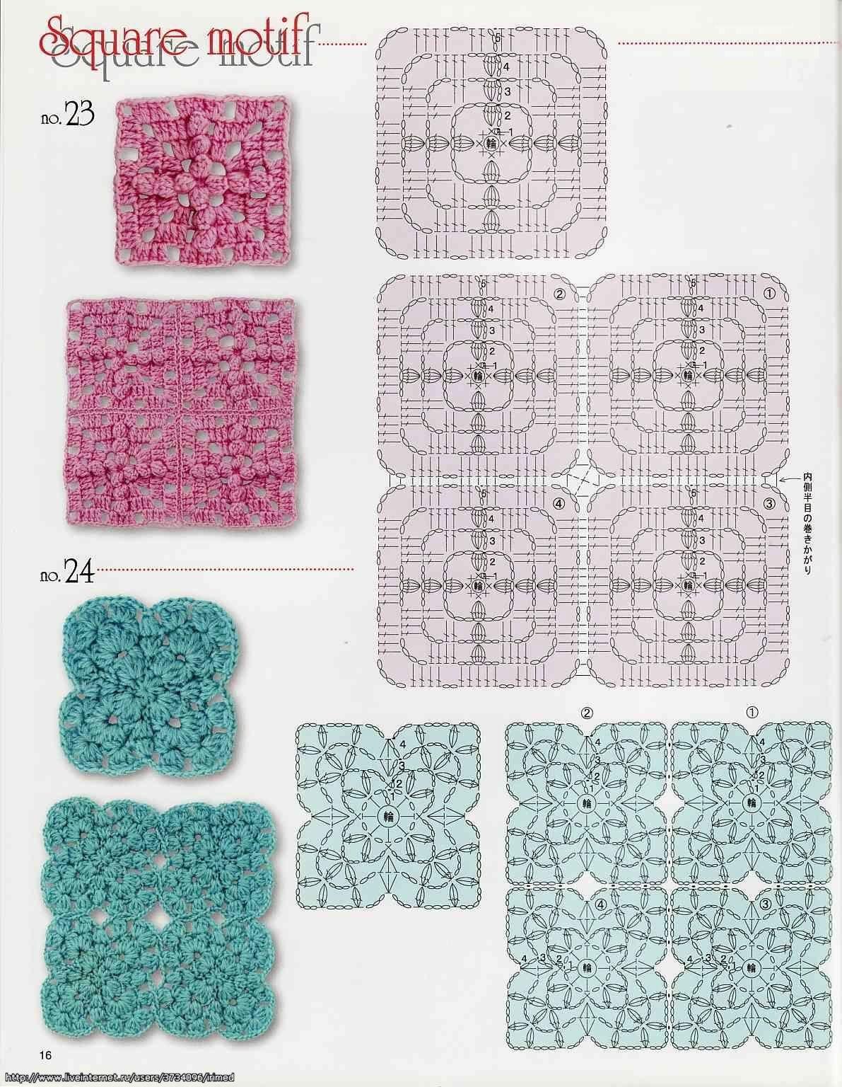 Foto :: Radical imagen más grande | knitting | Pinterest | Cuadrados ...