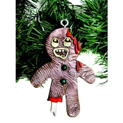 Too bad Christmas is over. - Gingerbread Zombie Christmas Ornament Zombies Pinterest Zombie