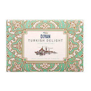 Divan turkish delight vintage inspired packaging for Divan rose turkish delight