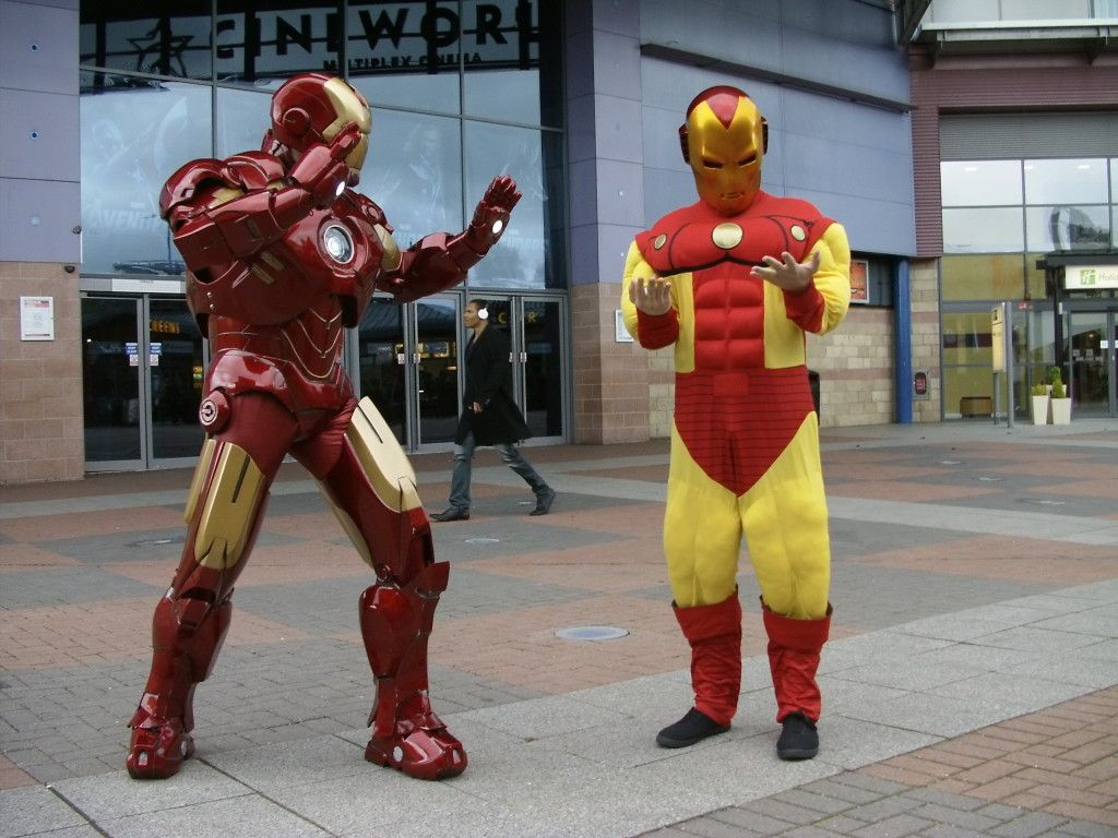 Inadequate Iron Man Cosplay (for @Liz Martin)