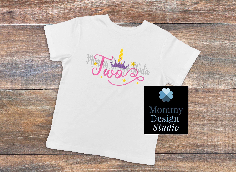 3fb7ae03 Girls Unicorn Birthday Shirt - White Shirt - Birthday Girl Shirt - Unicorn  Bday Shirt -