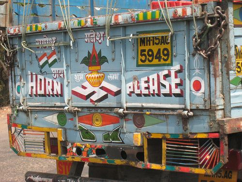 STOP HONKING INCREDIBLE INDIA