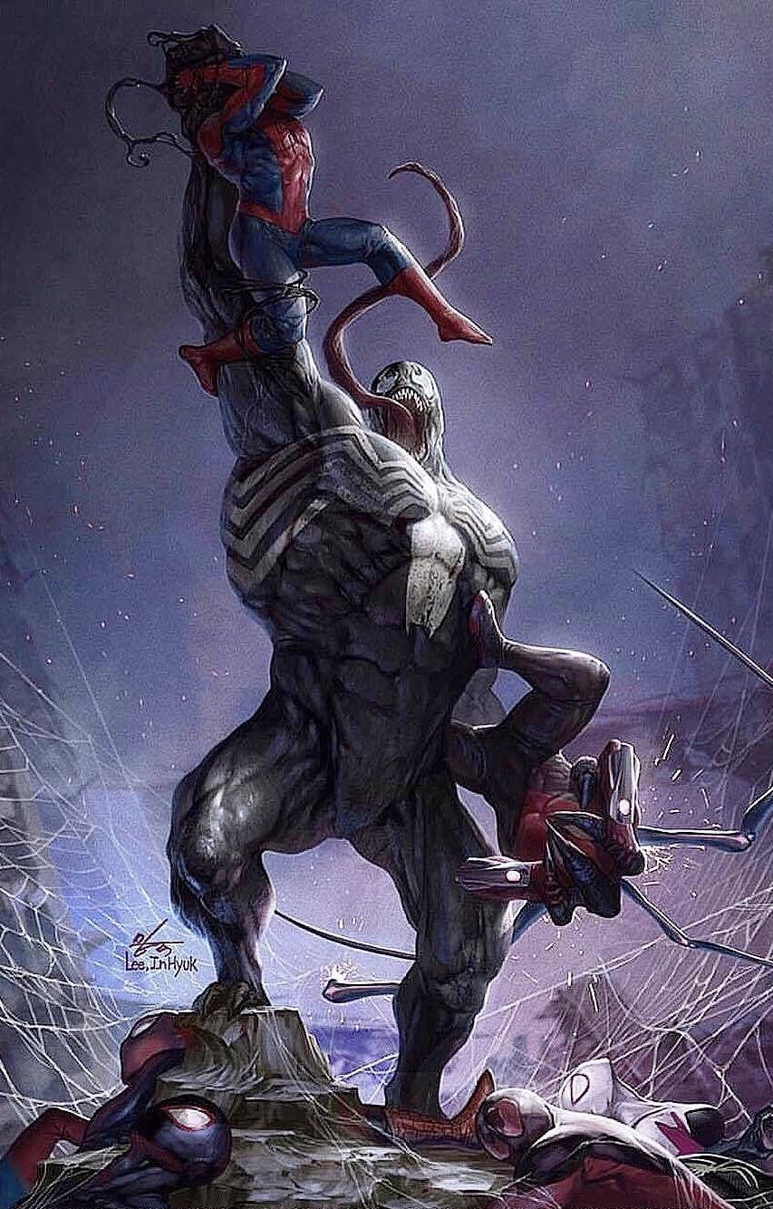 Venom Vs Carnage Vs Toxin Vs Anti Venom