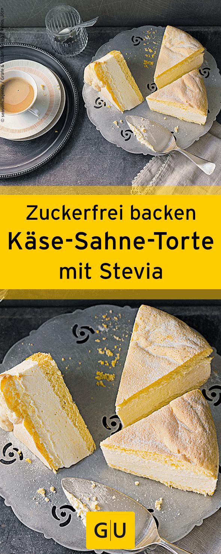 Zuckerfrei Backen Leckeres Rezept Fur Kase Sahne Torte Ihr Findet