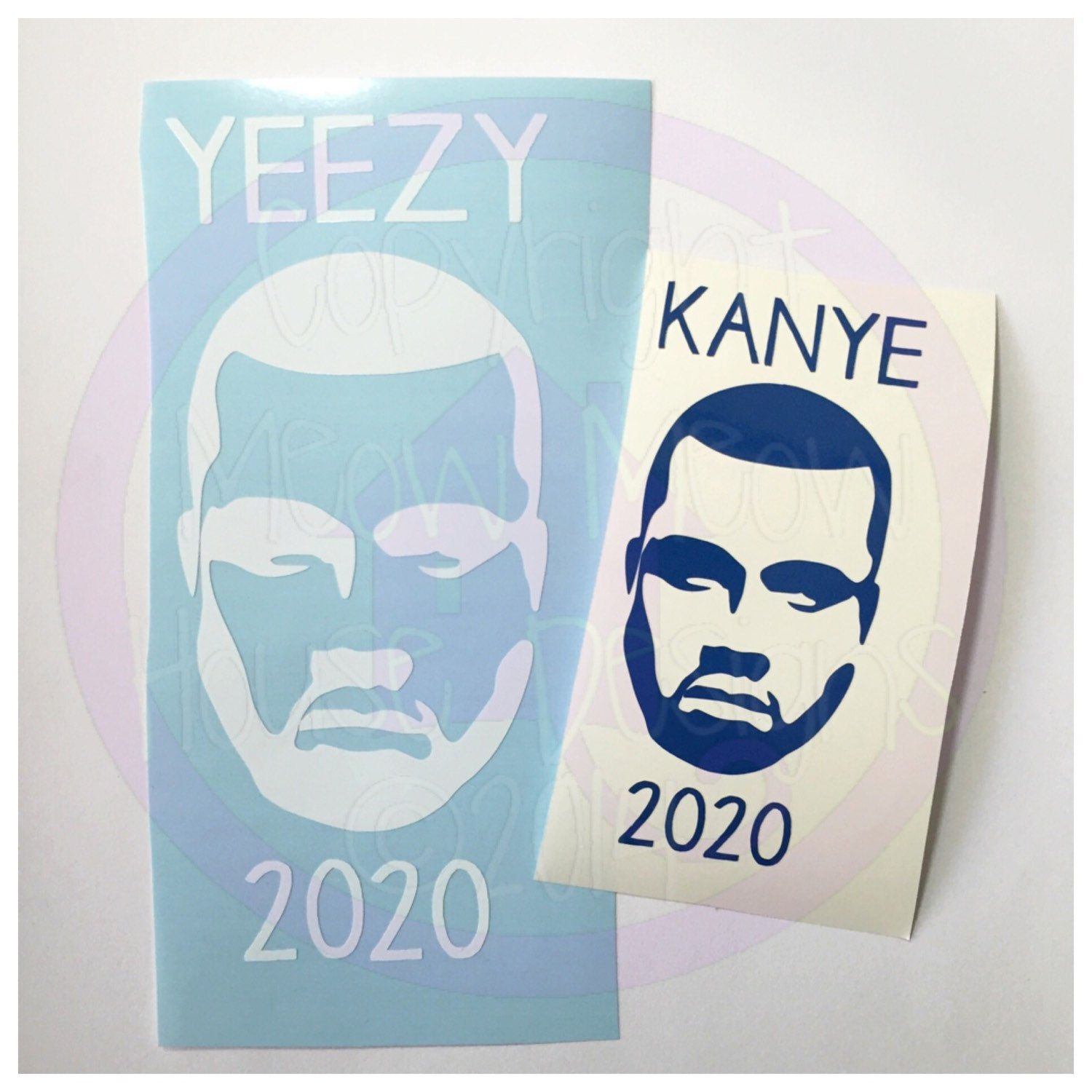 Kanye West 2020 Decal Select Your Size Tons Of Color Choices Gag Gift Hopefully Kanye For President Yeezy For Prez 2020 Electi Kanye Gag Gifts Yeezy