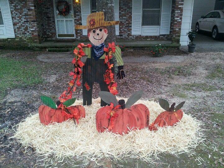 My Fall Yard Decor