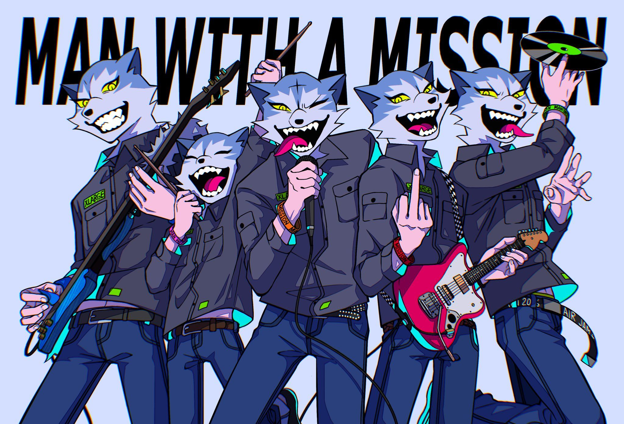 Pin on Man With A Mission