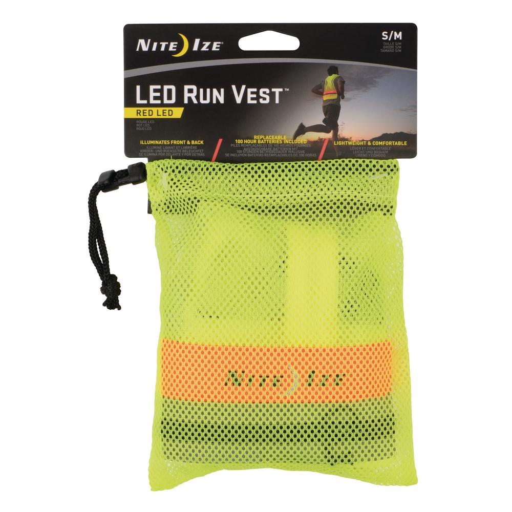 SM//MD Yellow Nite Ize LED Safety Vest
