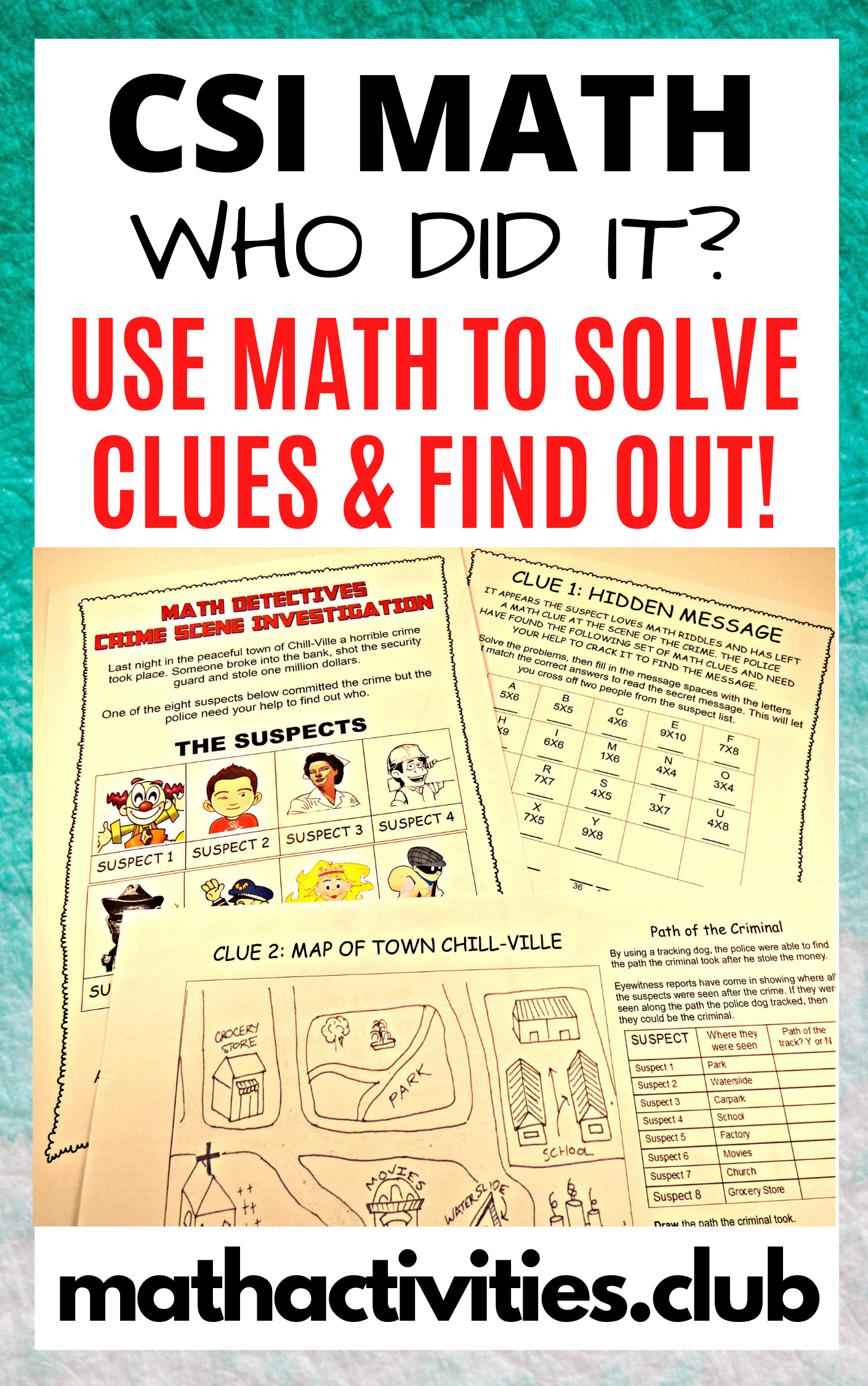 In This Fun Math Activity Your Students Will Solve A