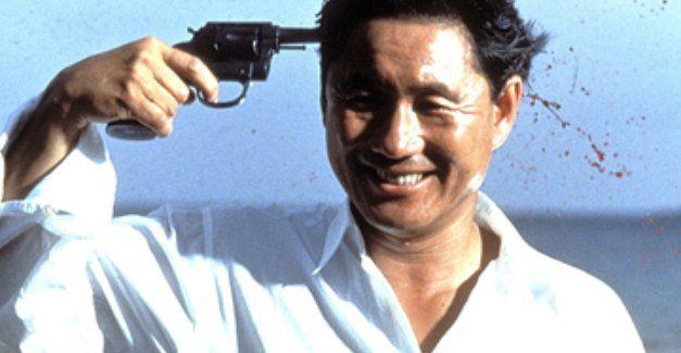 Sonatine (ソナチネ) 1993. Director/Writer: Takeshi Kitano. Murakawa finishes the game in his dream. (Takeshi Kitano)