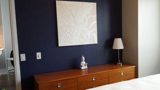 Wall Paint Benjamin Moore Jetblue Cc870 W Teak Furniture