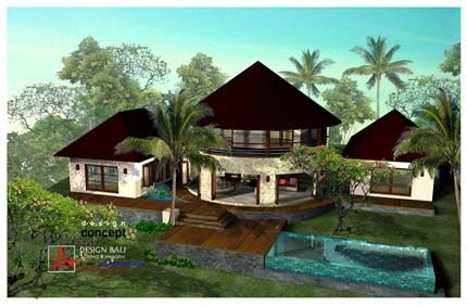 Bali Homes Balinese House Architecture Designs Bali House Tropical House Design House Architecture Design